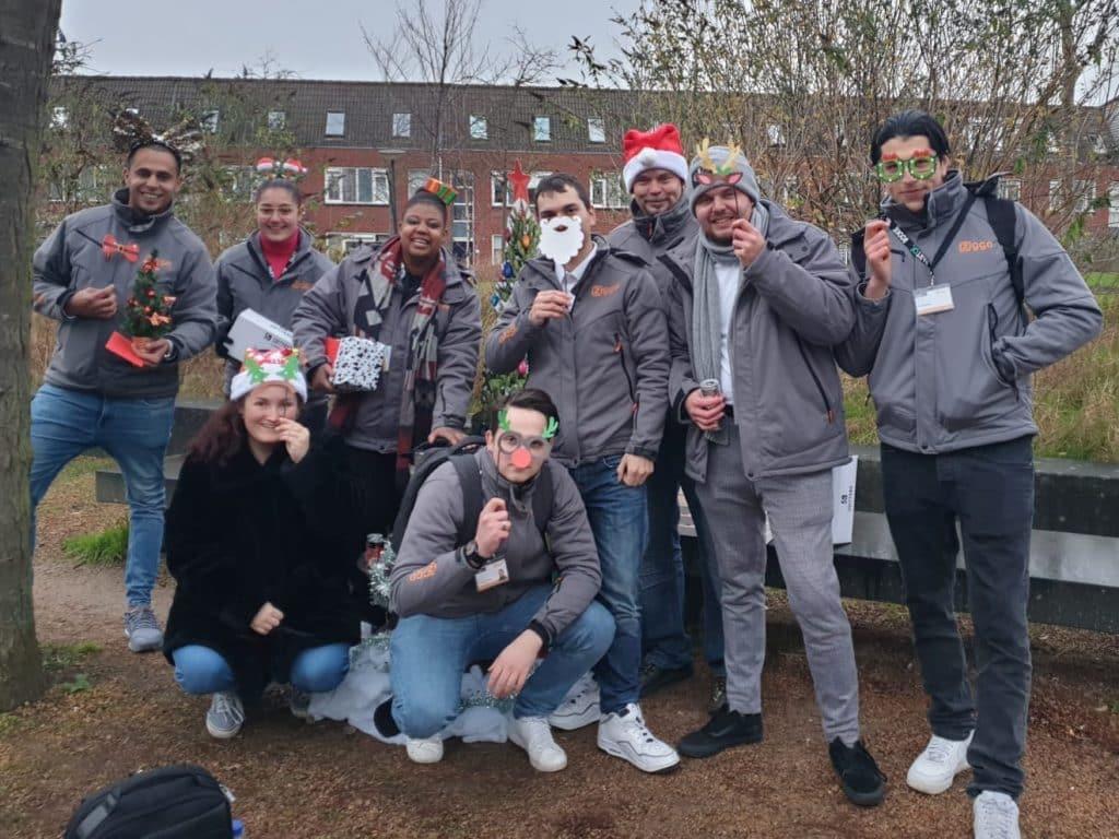 Christmas Hot Chocolate Road Show - team Ziggo